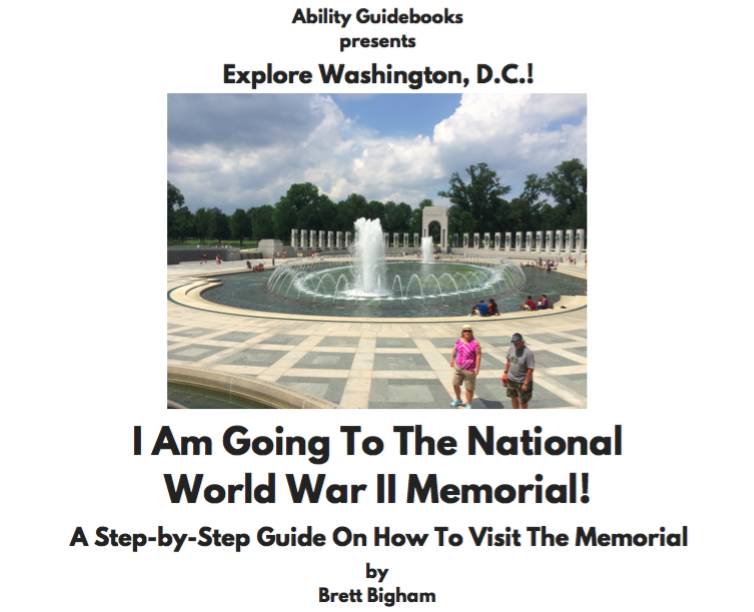 I Am Going To The National World War II Memorial!