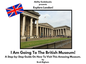 Ability Guidebook_ I Am Going To The British Museum