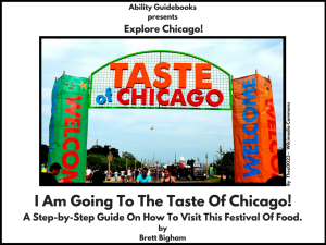 Ability Guidebook_ I Am Going To The Taste of Chicago!