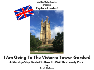 Ability Guidebook_ I Am Going To Victoria Tower Garden