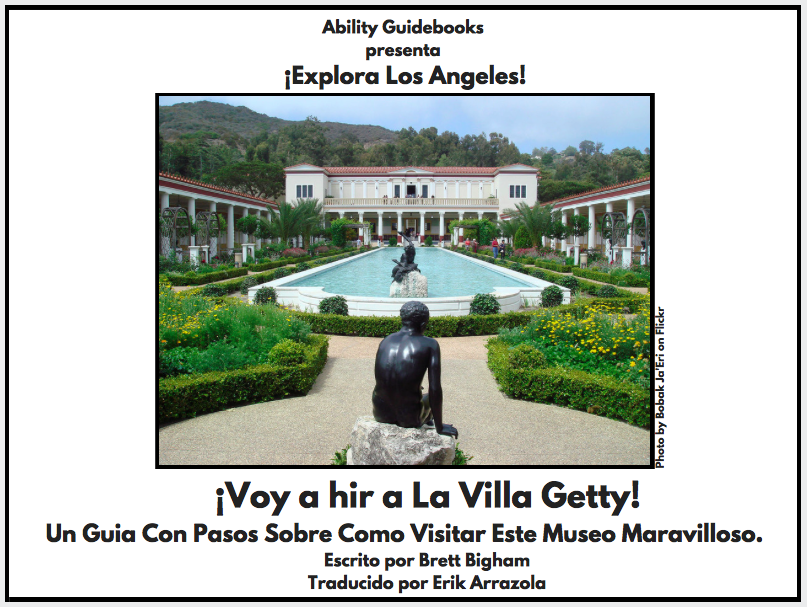 A California student just stepped up and translated I Am Going to the Getty Villa into Spanish!